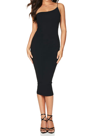 Nookie Penelope Midi Dress Black