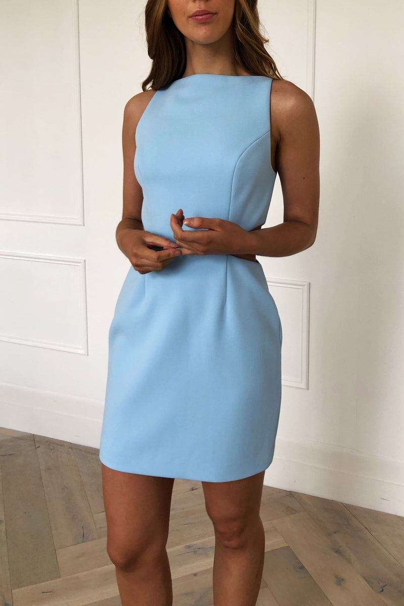 San Sloane Wallis Dress Sky Blue