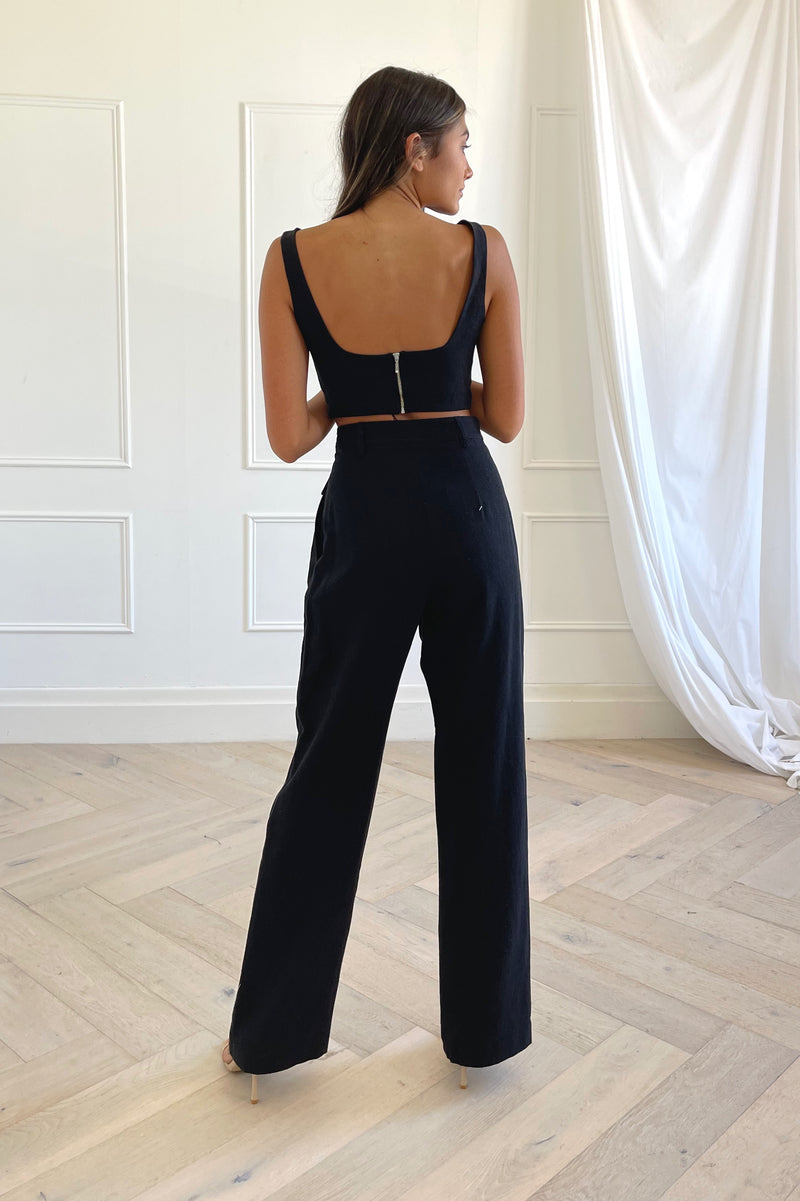 Bec and Bridge Phoebe Pant Black