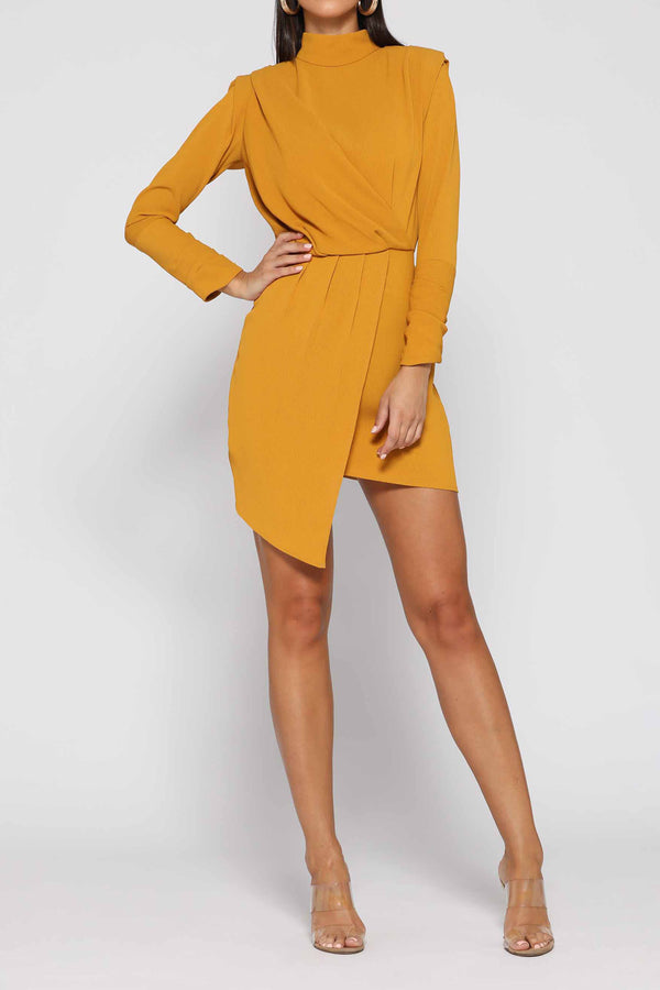 Elle Zeitoune Ruby Dress Saffron