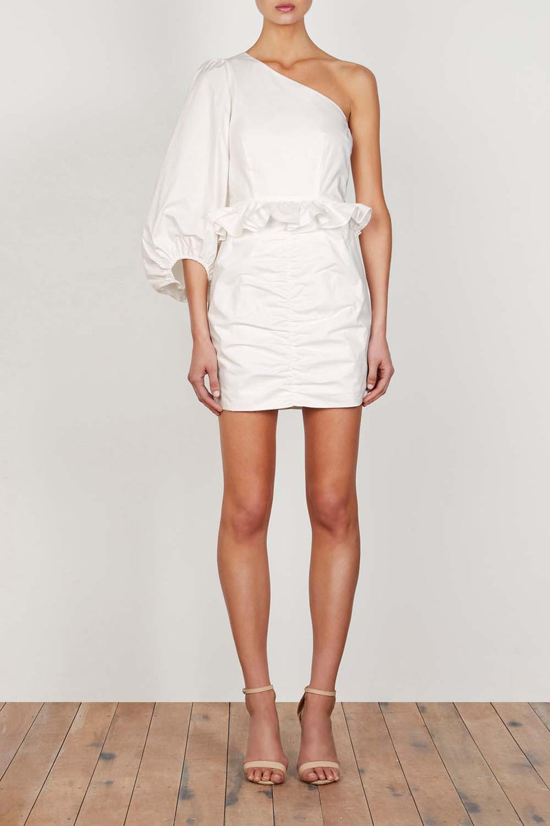 Shona Joy Grant One Shoulder Mini Dress