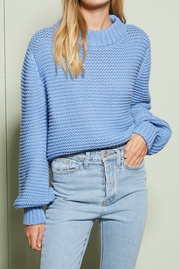 Bec and Bridge Greta Jumper Cornflower
