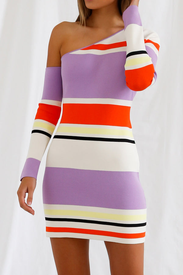 San Sloane Erika Dress Stripe