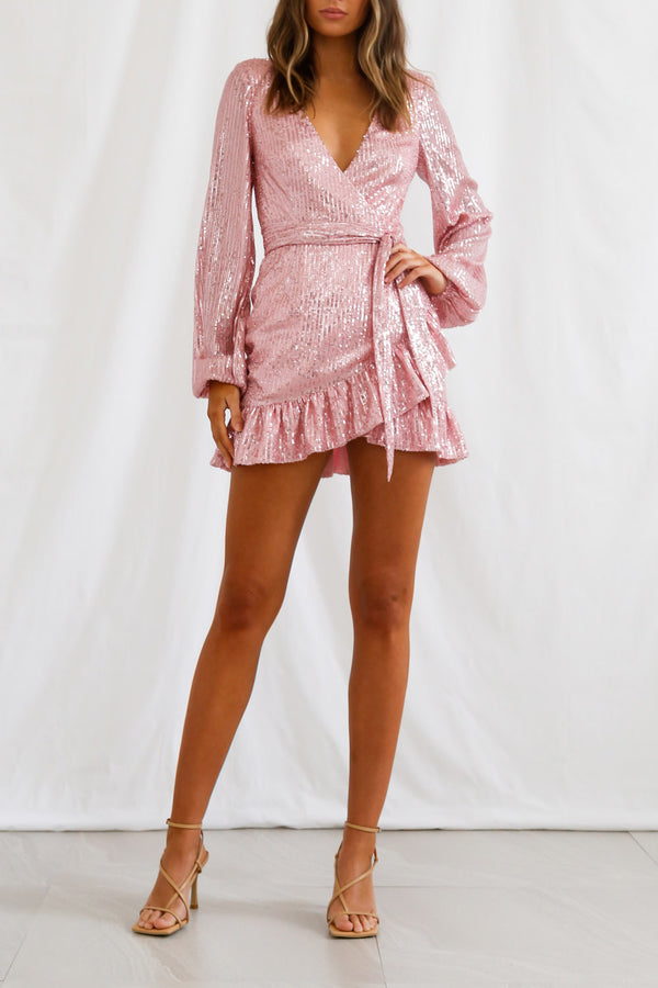San Sloane Solaris Dress Pink