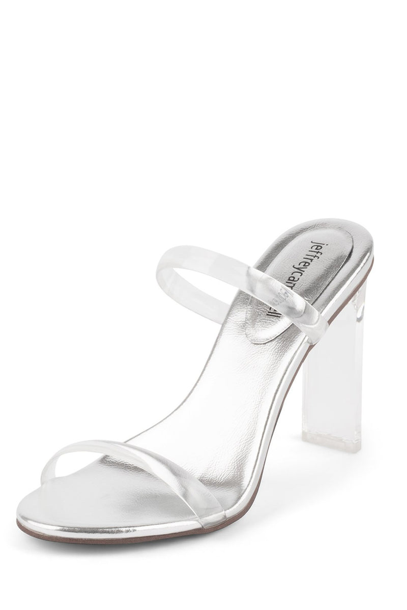 Jeffrey Campbell Serum Clear Silver
