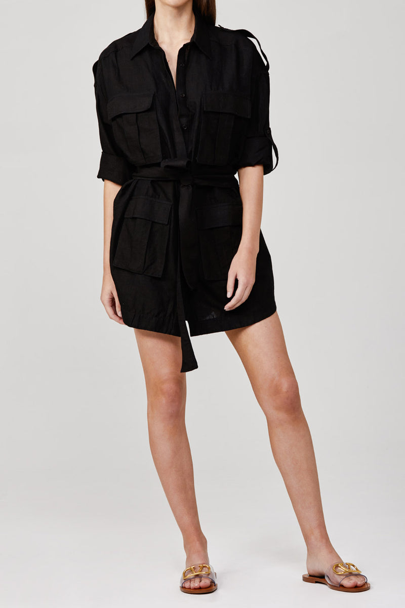 Significant Other Oralie Dress Black