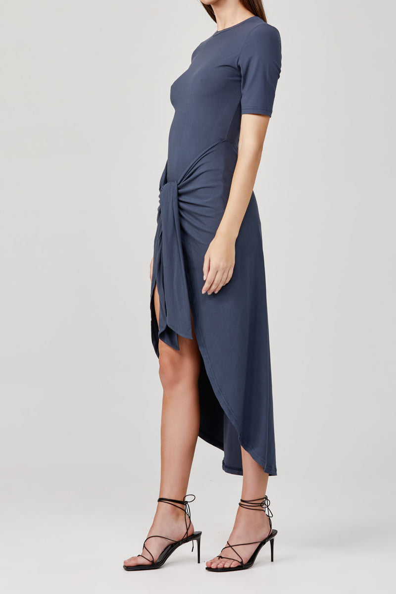 Significant Other Momentary Dress Bluestone Grey