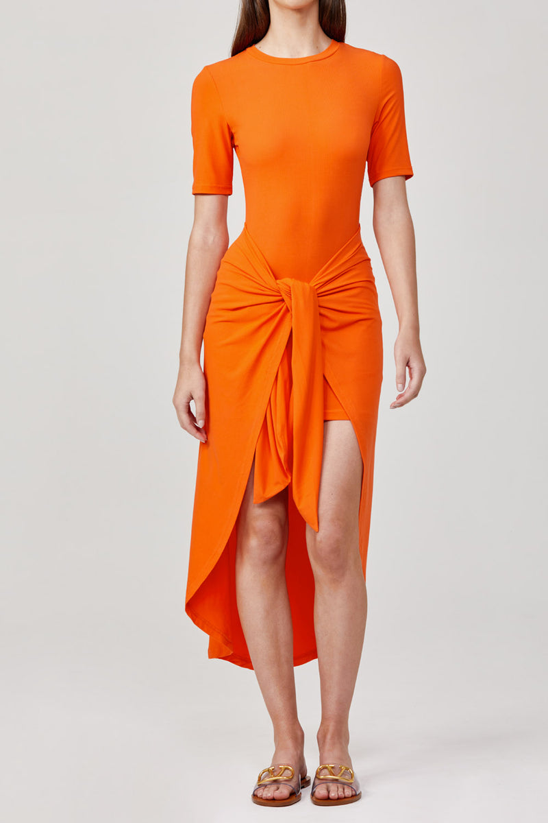 Significant Other Momentary Dress Orange