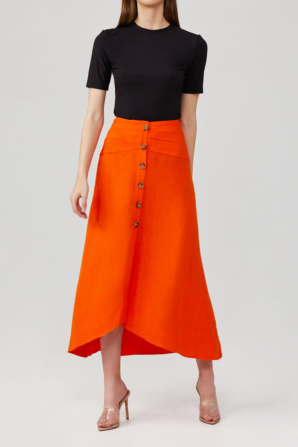 Significant Other Tempo Skirt Orange