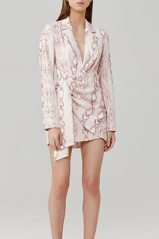 Significant Other Reflection Blazer Dress
