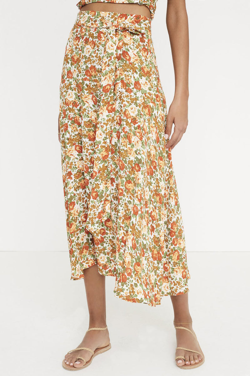 Faithfull Asiya Skirt Le Rose Floral