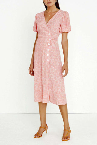 Faithfull Fran Midi Dress Maurie Print