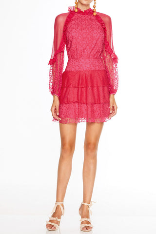 Talulah Fuscia Delight Mini Dress