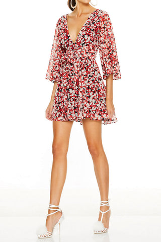 Talulah Cherry Bomb Mini Dress