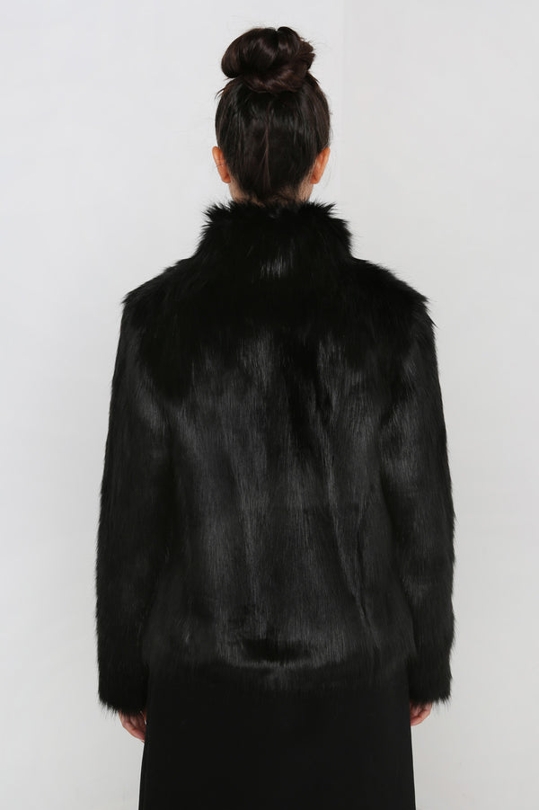 Unreal Fur Delish Jacket Black