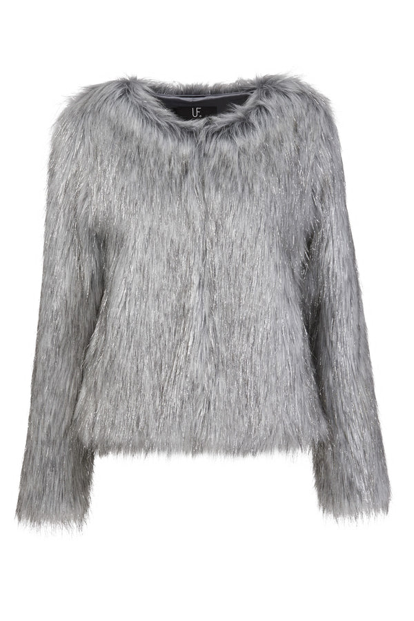 Unreal Fur Fire and Ice Faux Fur Jacket