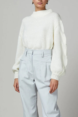 Bec and Bridge Celeste Knit Jumper Ivory
