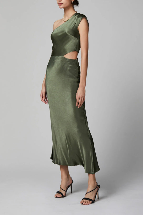 Bec and Bridge Delphine Asym Midi Dress
