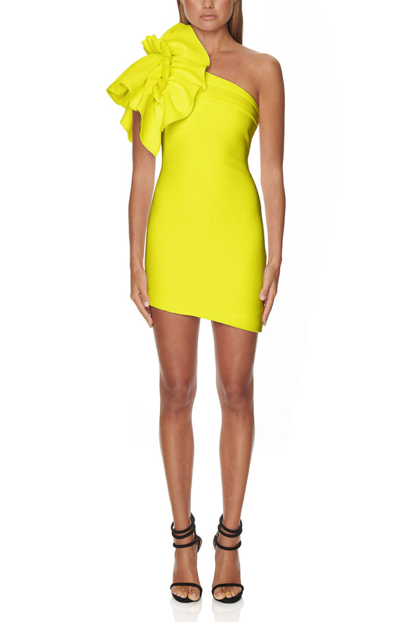 Eliya Valentina Dress Citrus
