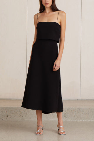 Bec and Bridge Araia Midi Dress Black