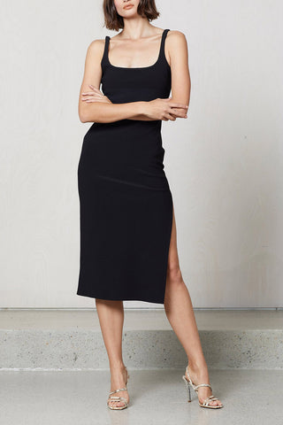 Bec and Bridge Valentine Midi Dress Black