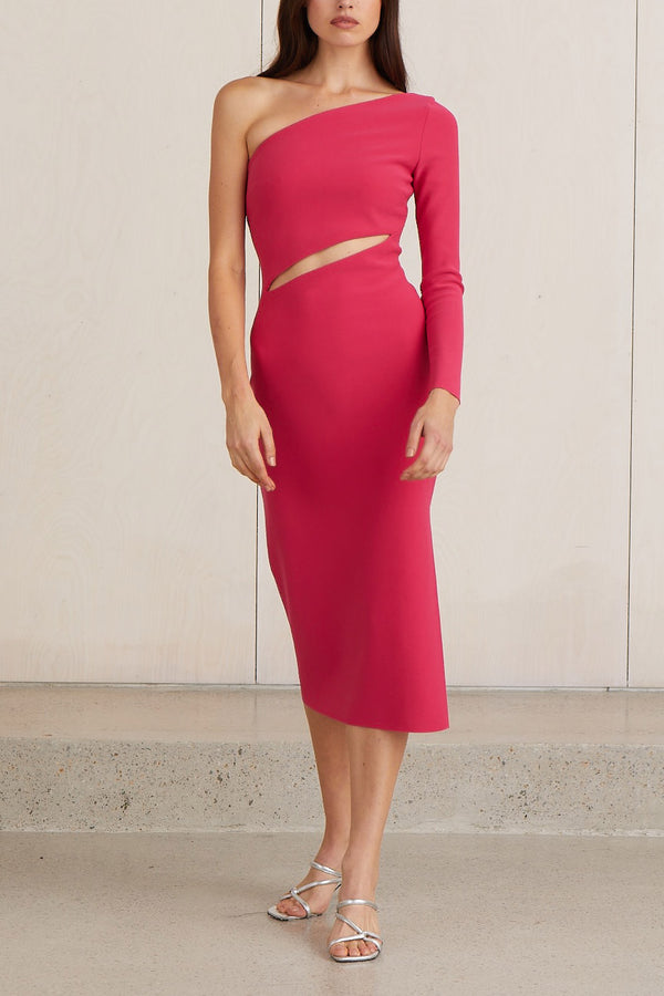 Bec and Bridge Valentine Asym Midi Dress