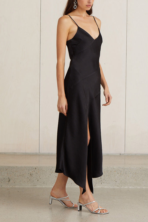 Bec and Bridge Gabrielle V Dress Black