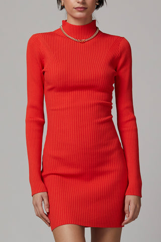Bec and Bridge Chichi LS Knit Mini Dress