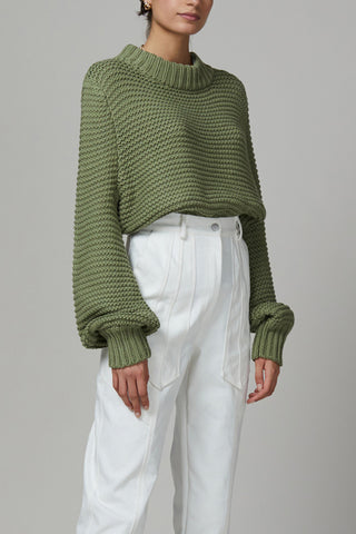 Bec and Bridge Elsa Knit Jumper Sage