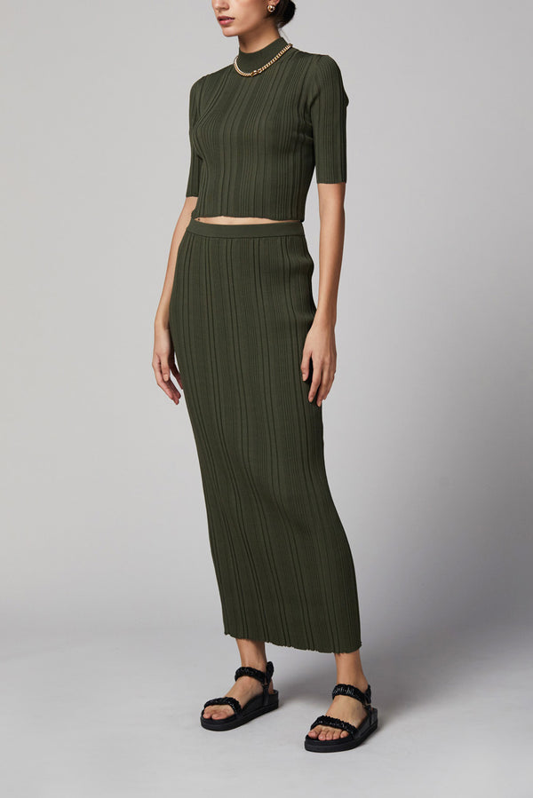 Bec and Bridge Esme Knit Midi Skirt