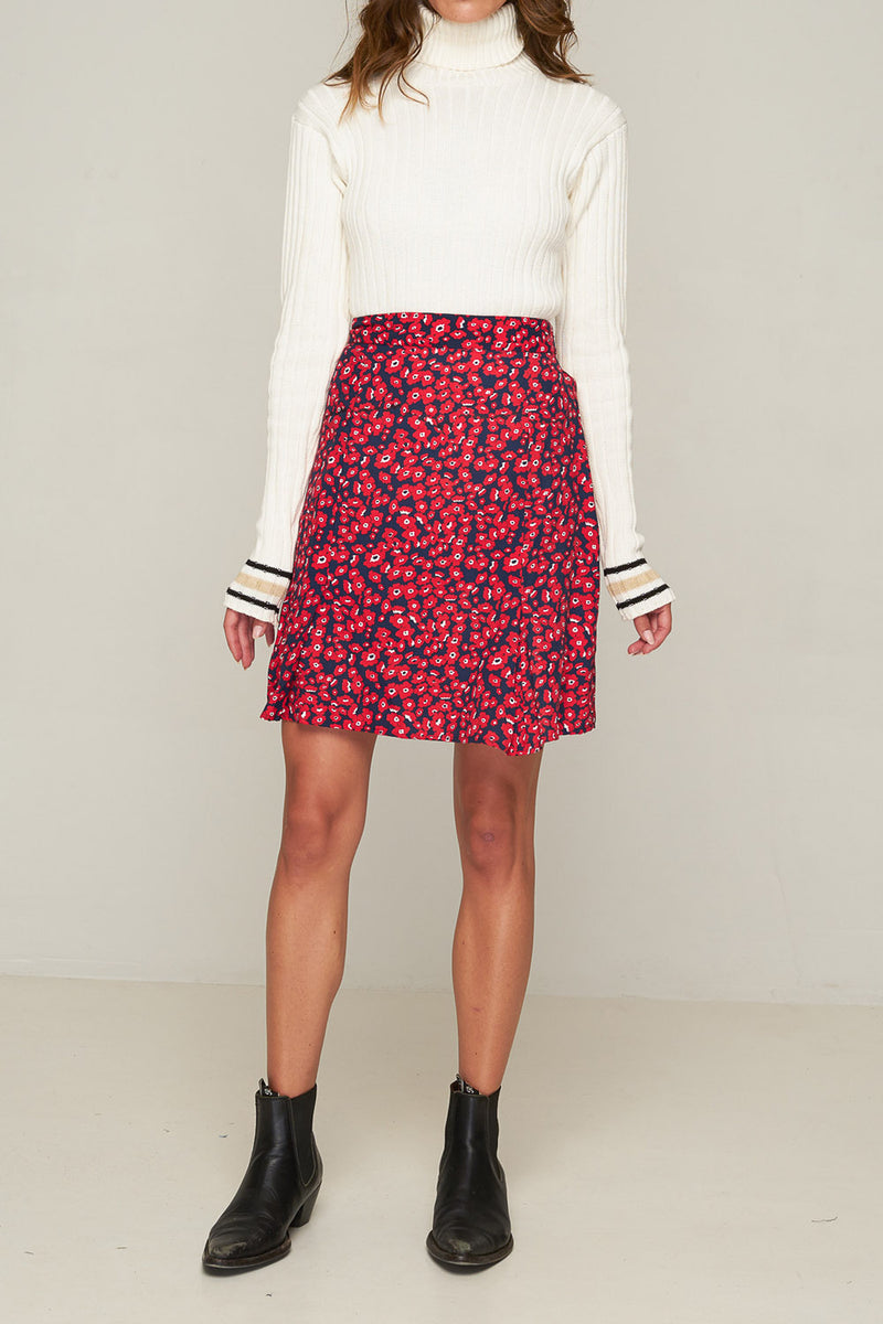 Rue Stiic Jolene Skirt Poppy Red