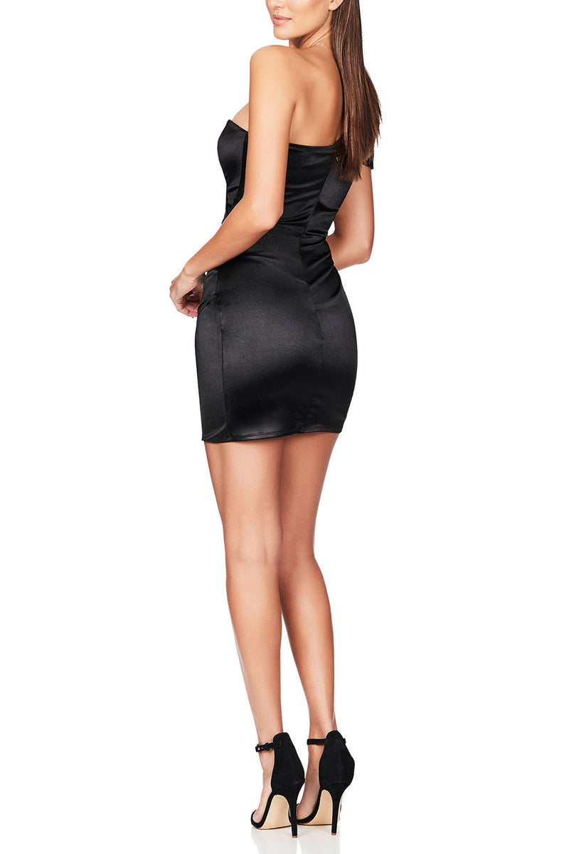 Nookie Zodiac Mini Dress Black