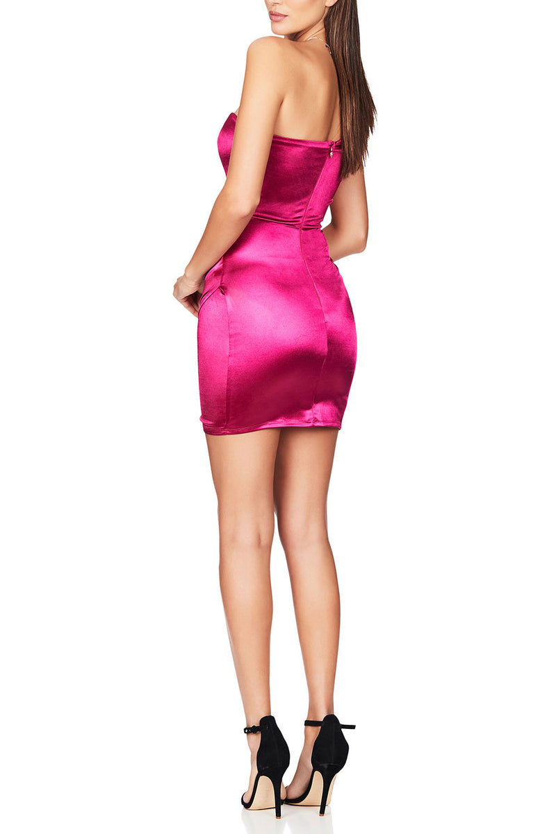 Nookie Zodiac Mini Dress Fuchsia