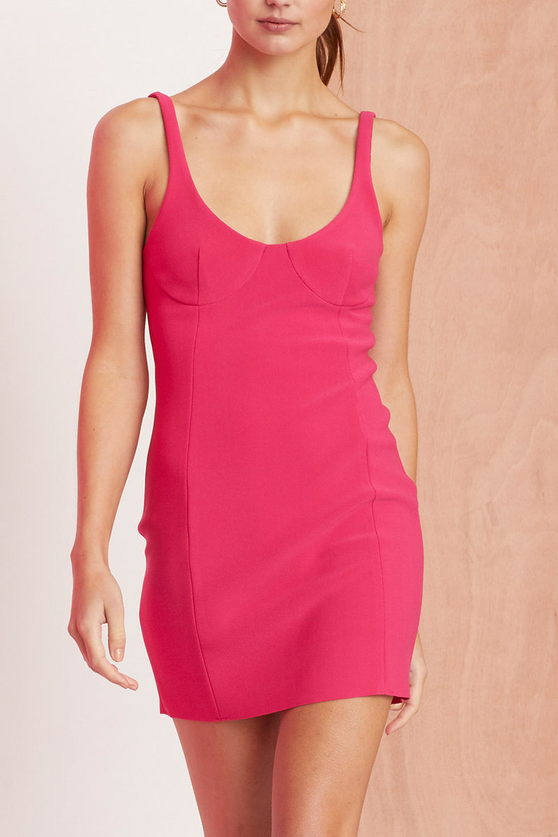 Bec and Bridge Amelie Mini Dress Magenta