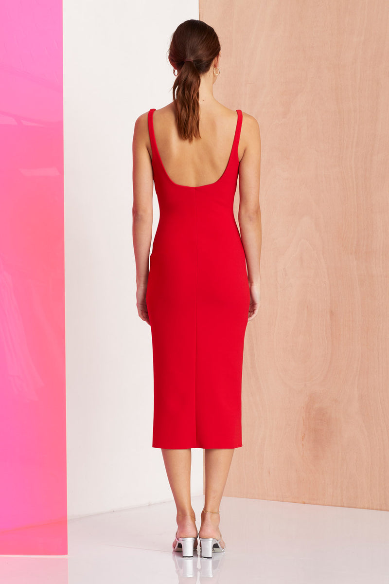 Bec and Bridge Cest Magnifique Midi Dress