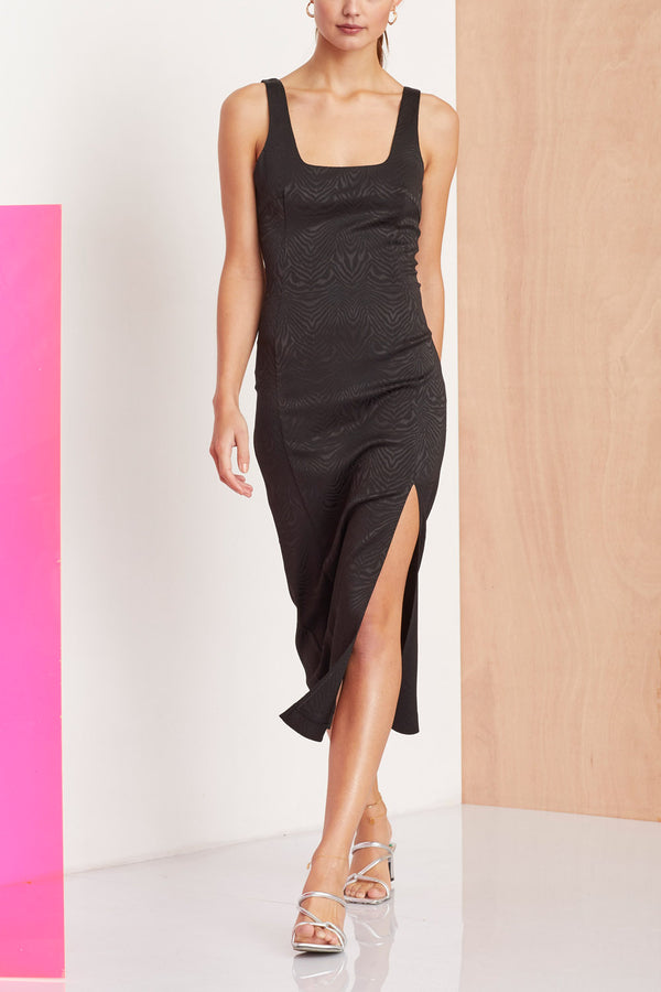 Bec and Bridge Ze'bre Midi Dress