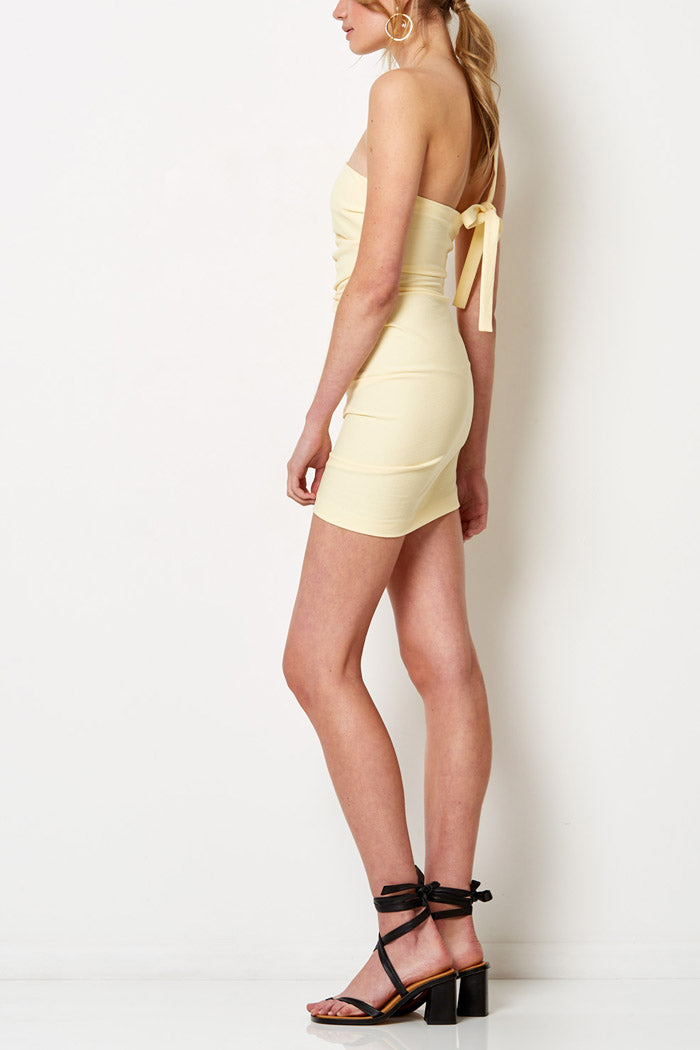 Bec and Bridge Bonita Mini Dress Butter