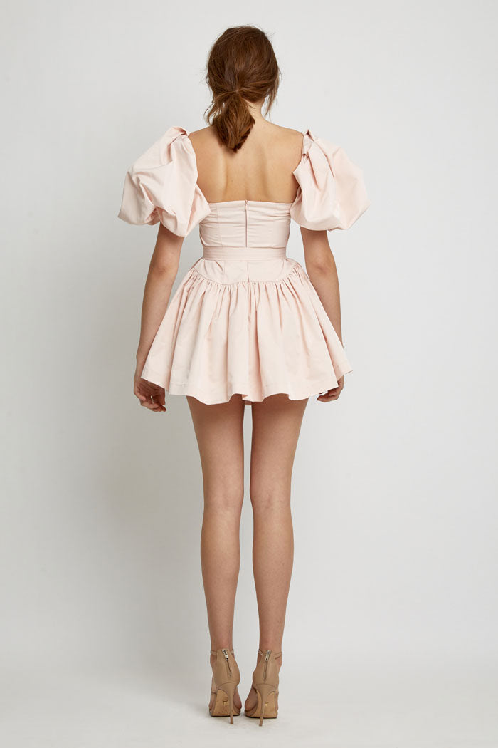 By Kane Porter Dress Blush