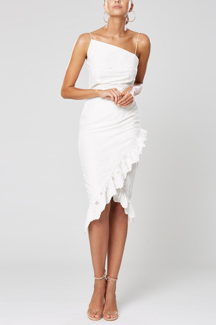 Winona Charisma Midi Dress White