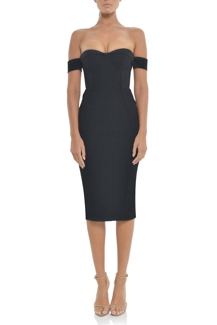 Misha Collection Chloe Dress Black
