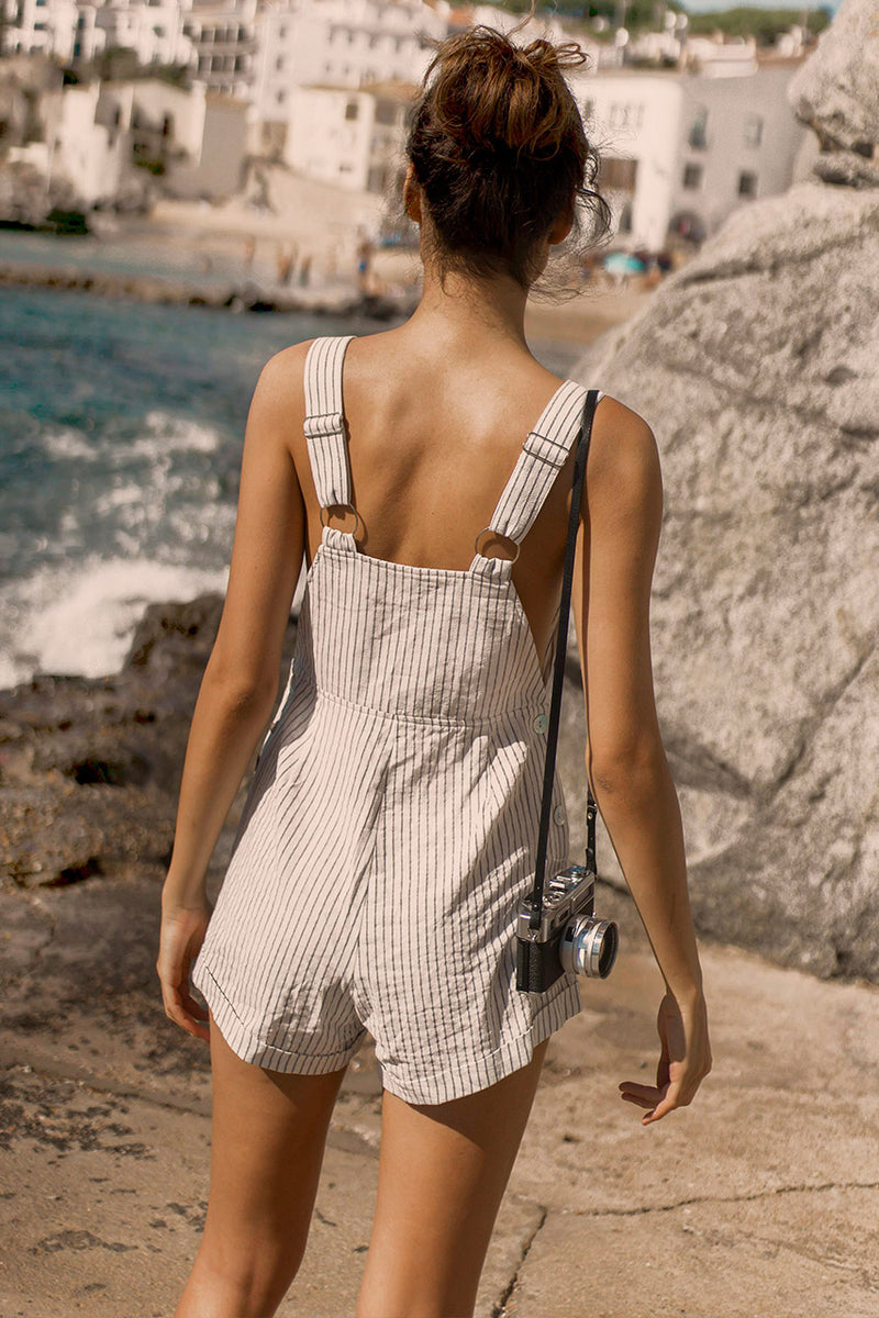 Seven Wonders Cassidy Dungarees White