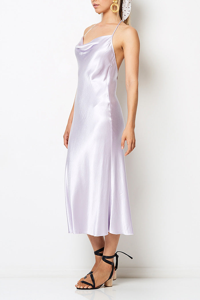 Bec and Bridge Disco Dancer Midi Dress Lilac