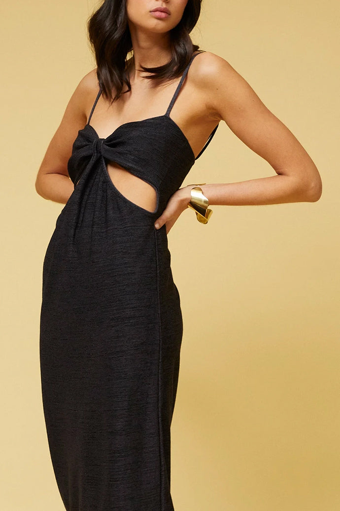 Suboo Dominique Cut Out Midi Dress