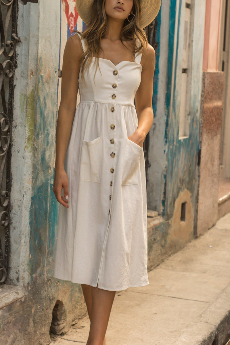 Seven Wonders Helena Dress White