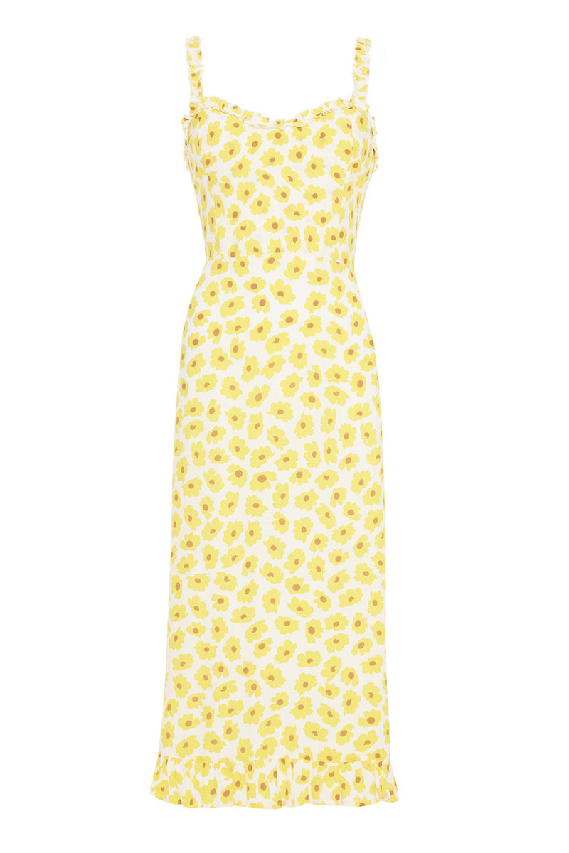 Faithfull Noemie Midi Dress Contance Floral Print