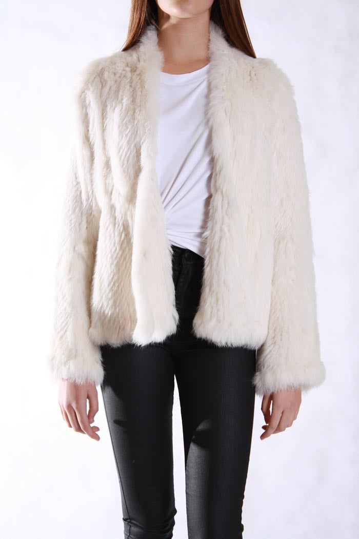 Fur Jacket Cream