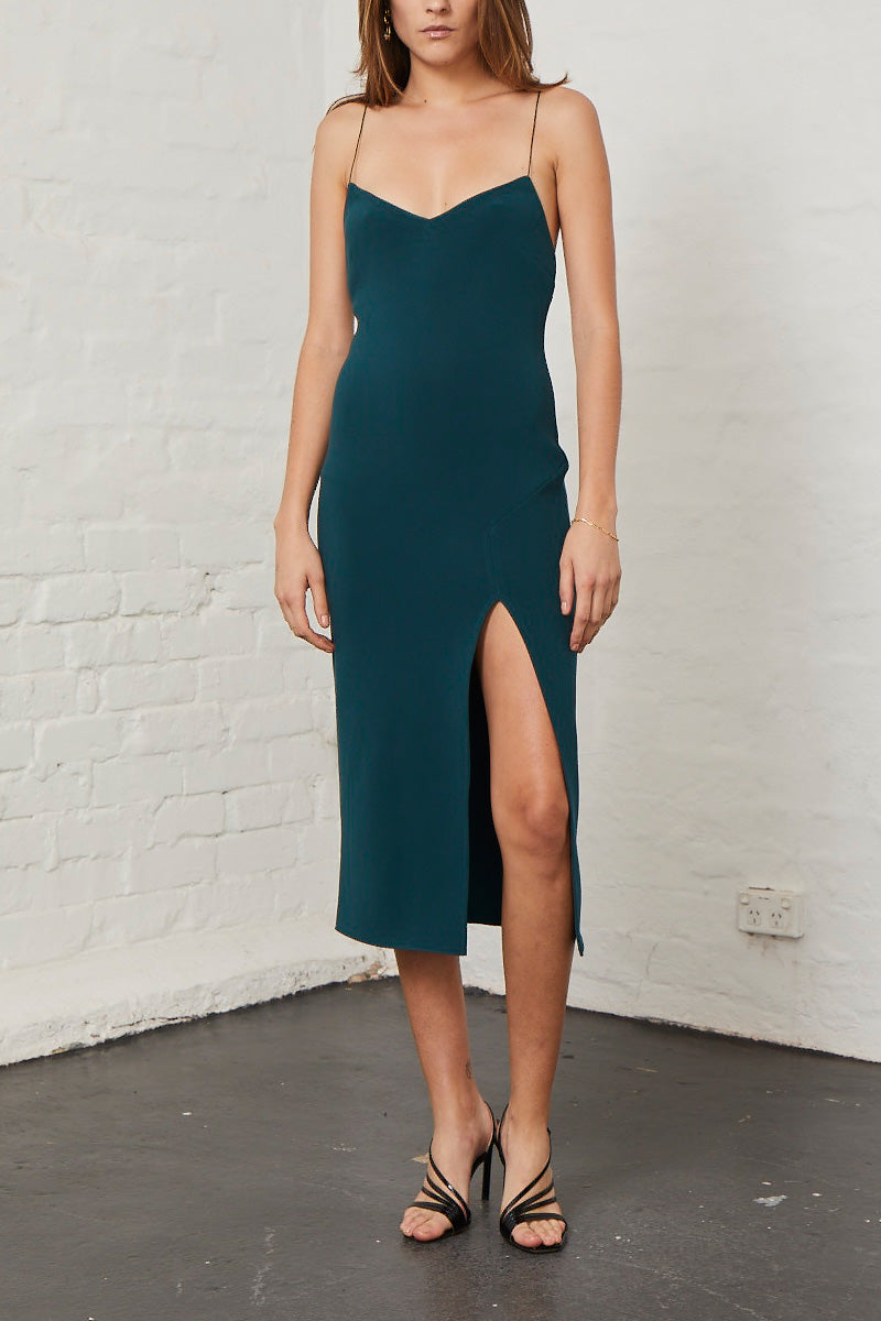 Bec and Bridge Margaux Panel Dress Forest