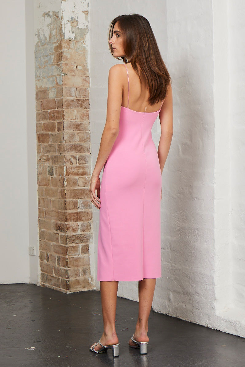 Bec and Bridge Margaux Panel Dress Fuschia
