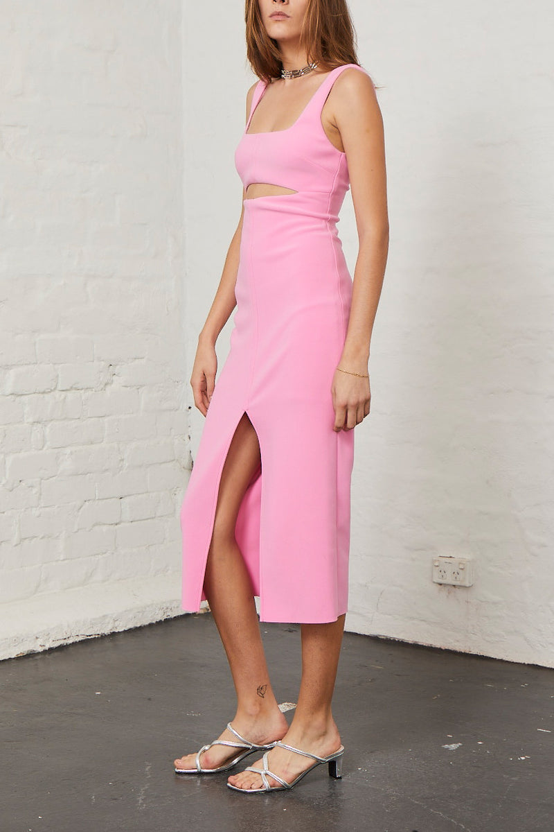 Bec and Bridge Margaux Mouth Dress Fuschia