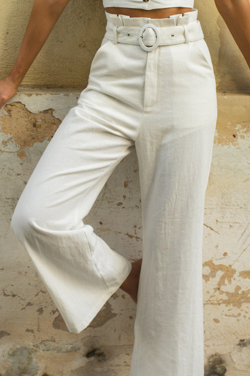 Seven Wonders Helena Pants White